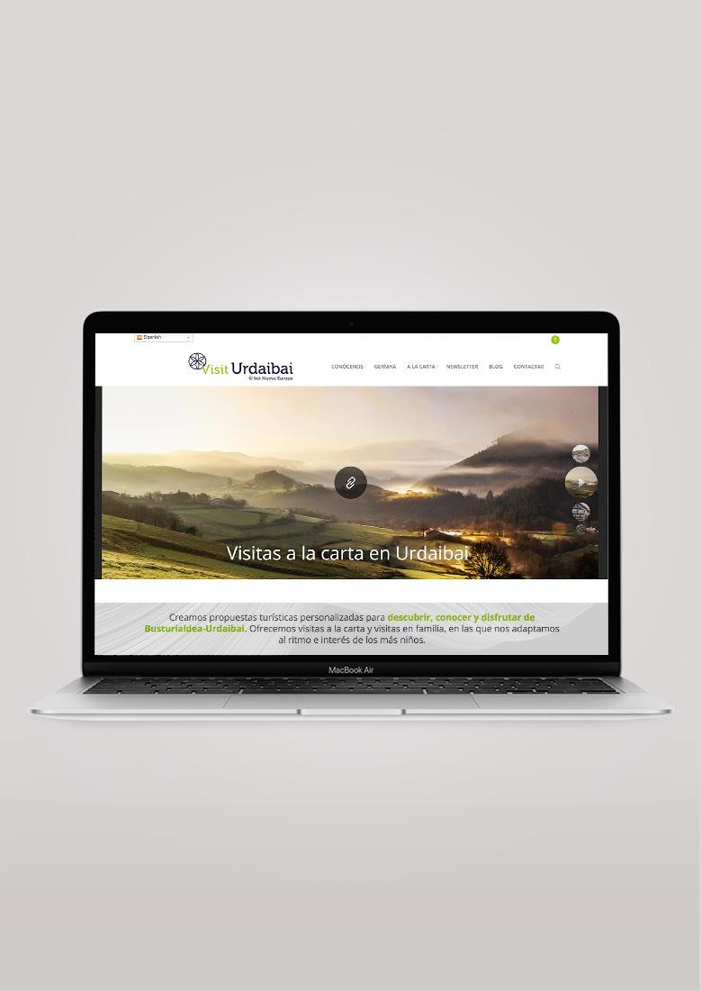 Pagina web visiturdaibai.com