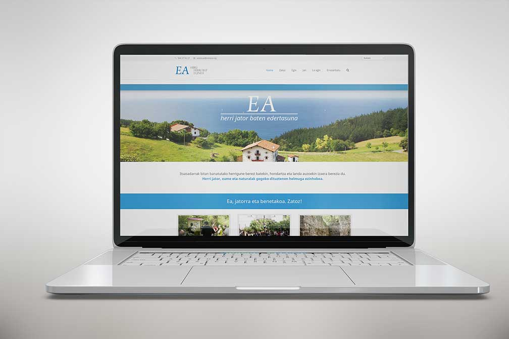 Nueva europa diseño wen Ea turismoa