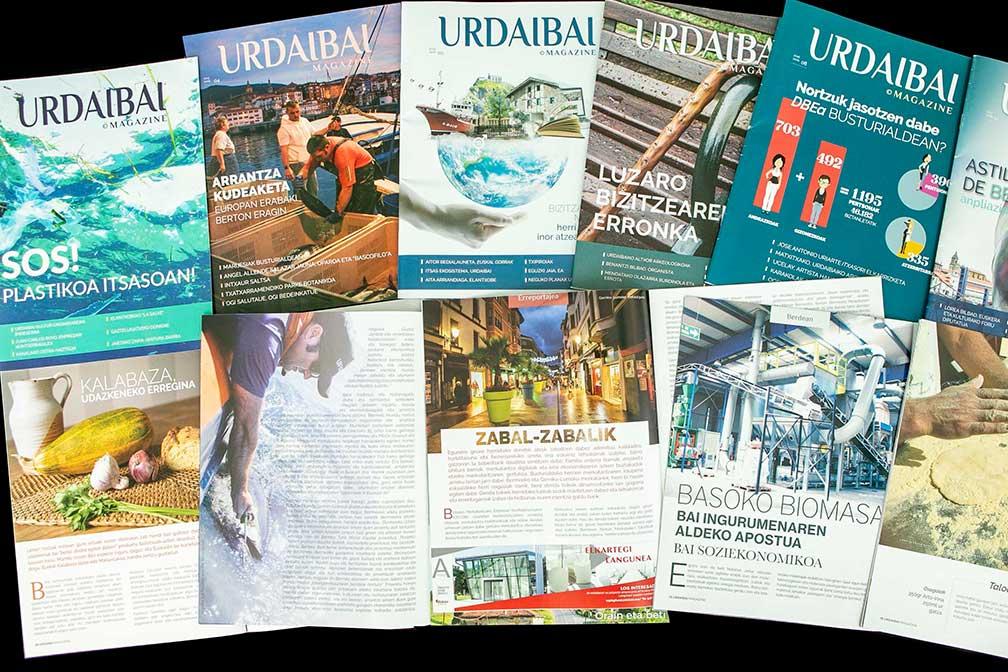 Revistas Urdaibai Magazine bai nueva europa